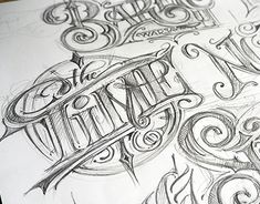 """Check out new work on my @Behance portfolio: """"Typography - sketches"""" http://be.net/gallery/63464679/Typography-sketches"""