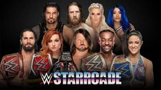 Where are all my WWE fans? Did you know they're coming to the Atlanta area on Sunday? Come check WWE Starrcade Comes to Infinite Energy Arena This Sunday Raw Wrestling, Wrestling Videos, Wrestling News, Harley Race, Wwe Raw Videos, Clash On, Shayna Baszler, Kevin Owens
