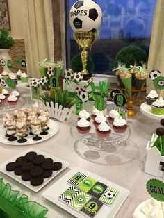 Soccer Birthday Parties, Football Birthday, Soccer Party, Birthday Party Themes, Soccer Baby Showers, Baby Shower Parties, Soccer Wedding, Soccer Cake, Childrens Party