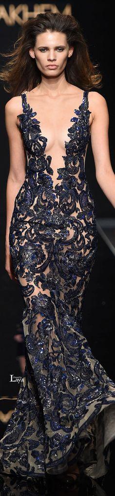 Glamour Gowns  / karen cox.  RANI ZAKHEM Spring-Summer 2015 COUTURE