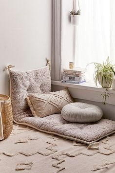 ideas living room floor pillows urban outfitters for 2019 Living Room Designs, Living Room Decor, Bedroom Decor, Bedroom Wall, Bedroom Ideas, Dining Room, Budget Bedroom, Wall Decor, Wall Art