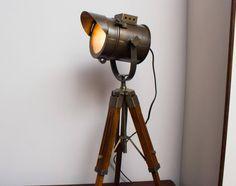 BULB INCLUDED Industrial Vintage Movie Style Desk Lamp. Floor