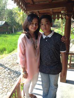 Alif & mom