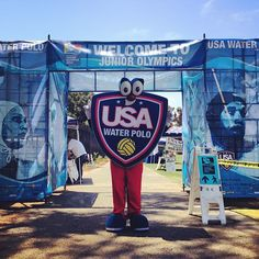 Shieldy at the 2013 Junior Olympics Usa Water Polo, Olympics, Goals, Ideas, Thoughts