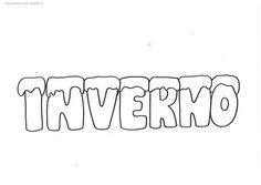 Inverno - poesia illustrata Math Equations, Dementia, Lab, Winter, Google, Preschool Winter, Clays, Colouring In, Weather