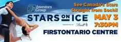 Stars on Ice skate into FirstOntario Centre this Saturday.   Tickets here: http://bit.ly/1kcrDj9