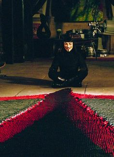 V for Vendetta - One of my top favorite movies =)