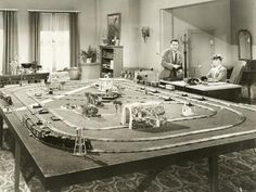 size: Photo: Showing Off New Toy Train Set : Artists Lionel Train Sets, Model Trains, Toy Trains, Christmas Train, Buy Toys, Model Train Layouts, Fun Hobbies, Frame Shop, Great Places