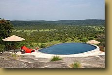 Uganda: Lake Mburo NP: Mihingo Lodge.  Top of the market in this small but impressive park.