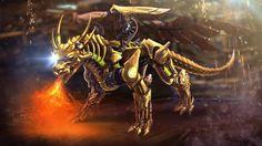 Znalezione obrazy dla zapytania steampunk dragon art
