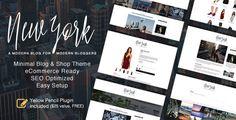 New York - WordPress Blog & Shop Theme