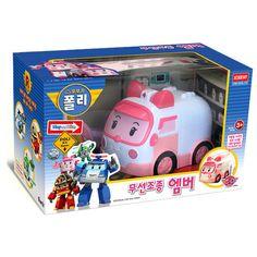Robocar Poli AMBER Wireless Remote Control RC Robot Car Educational Toy for Kid    eBay