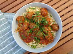 Meatball Pasta #pasta