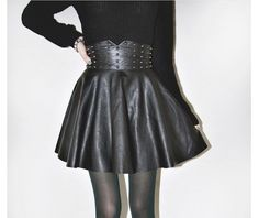 Spikes Skirt Falda Pinchos  Rebels Market