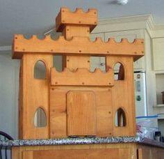 handmade castle