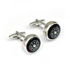 Kiola Designs Retro Fun Gamer Game Over Cufflinks
