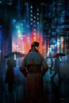 'Blade Runner 2049' fan art by Michael Friebe (Raborlatte)