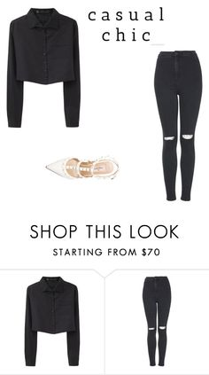 """""""Untitled #582"""" by kimberly58227 ❤ liked on Polyvore featuring Proenza Schouler, Topshop and Valentino"""