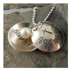 Personalized Godmother Locket Hand Stamped Necklace - only pinning cause it says Sophia & Godmother! Godparent Ideas, Godmother Ideas, Different Holidays, Hand Stamped Necklace, Daughter Of God, Bling Nails, Diamond Are A Girls Best Friend, Holiday Decorations, Craft Gifts