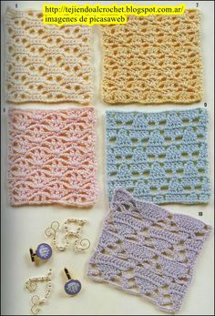 Crochet Knot Stitch Instructions : ... knot patterns on Pinterest Free crochet, Crochet stitches and