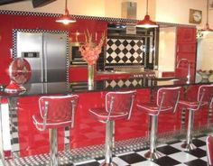 American kitchen diner on pinterest diners diner for American diner style kitchen ideas