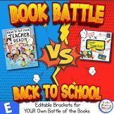 Get your students engaged in your back to school read alouds with a BOOK BATTLE! Get yours now, FREE!