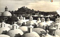 Fotos de Cholula, Puebla, México: Cúpulas de la Capilla Real de Cholula