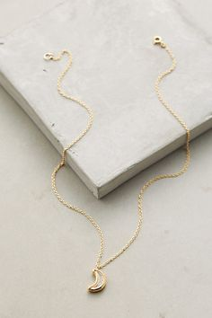 Moon Shaker Pendant Necklace #anthropologie