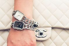Nice wrists. #CHANEL www.thecoveteur.com/chanel_premiere_watch