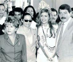 Alicia Machado - Venezuela - Miss Universe 1996 Miss Universe 1996, Beautiful Inside And Out, Miami Beach, Crowns, Celebrities, Beauty, Fashion, Alicia Machado, Venezuela