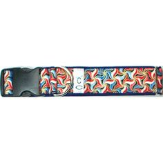 Oh Beautiful Adjustable Dog Collar - 4th of July