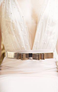 Wedding Gown: Zahavit Tshuba - www.zahavittshuba.co.il/ Photography: Jo Lewis - http://www.stylemepretty.com/portfolio/jo-lewis   Read More on SMP: http://www.stylemepretty.com/little-black-book-blog/2014/07/15/elegant-venice-wedding-inspiration/