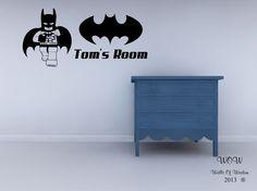 Lego Superhero Batman Childrens Bedroom Wall Sticker Wall Art Decal