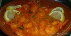 Shrimp Mozambique  - For the Love of Portuguese Food!!!