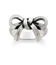 """Bow Ring: James Avery $69 This would be so sweet for a daddy to give his """"little lady."""""""