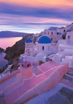 santorini, greece #travelcolorfully #dreamsinhd