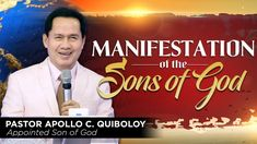 Manifestation of the Sons of God Spiritual Enlightenment, Spirituality, Investiture Ceremony, Spirit Soul, Kingdom Of Heaven, Son Of God, Praise And Worship, The Covenant, Apollo