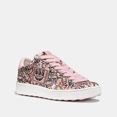 d6d1d9bca69 Coach x Keith Haring C101 Low Top Sneaker