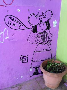 Cute graffiti near Exarhia square, Athens 2011
