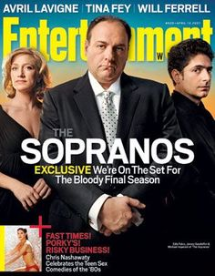 The Sopranos on Entertainment Weekly
