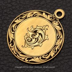 Gold Pendant- Sam Alfano - I'm in love.