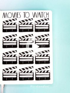 Movies To Watch Bullet Journal Spread These bullet journal ideas aren't only unique and fun, but easy to copy too! Click through to find 15 unique bullet journal ideas. Bullet Journal Films, Birthday Bullet Journal, Bullet Journal Headers, Bullet Journal Tracker, Bullet Journal Printables, Bullet Journal Ideas Pages, Bullet Journal Spread, Bullet Journal Inspiration, Bullet Journal Tools