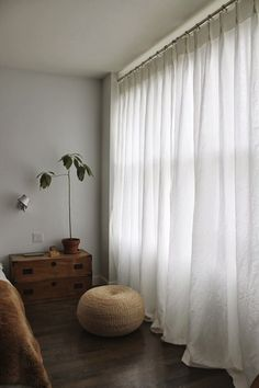 White Linen Curtains Decor In 2019 White Linen Curtains Bedroom intended for size 1066 X 1600 White Linen Bedroom Curtains - Bedroom-curtains are White Linen Curtains, Shabby Chic Curtains, Green Curtains, Rustic Curtains, Curtains Living, Diy Curtains, Shower Curtains, White Bedroom Curtains, Farmhouse Curtains
