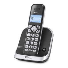 SPC 7261N Teléfono DECT AG20 ML ID LCD ECO Negro