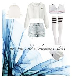 """White"" by jocelynelizabeth on Polyvore featuring Ksubi, Converse and Steve Madden"
