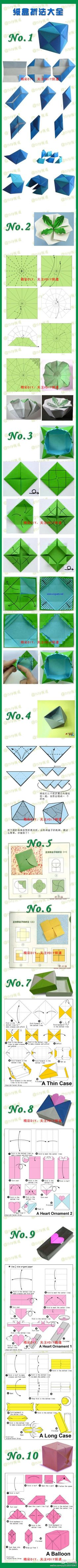 580 Best Origami Tutorials 2 Images On Pinterest Tutorial Christmas Star Tavin39s Several Diagrams Scroll Down For Hearts Guide Diy Paper Crafts