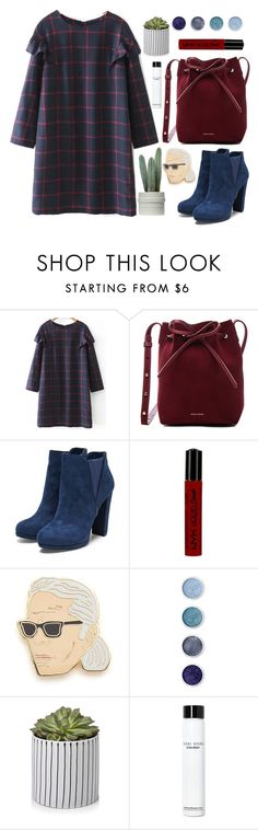 """""""2017 New Set"""" by stevie-pumpkin ❤ liked on Polyvore featuring Mansur Gavriel, NYX, Georgia Perry, Terre Mère and Bobbi Brown Cosmetics"""