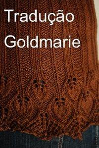 blog Tricô em Prosa - Tradução autorizada da receita do xale Goldmarie