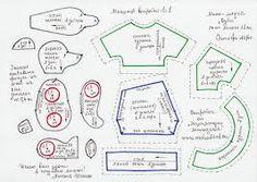 Картинки по запросу мишки из джинса выкройка