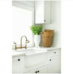 Laundry Room  Shaw Farmhouse Sink, Rohl Wall Mounted Faucet | Someday  Renovation | Pinterest | Laundry Rooms, Laundry And Wall Mount Faucet